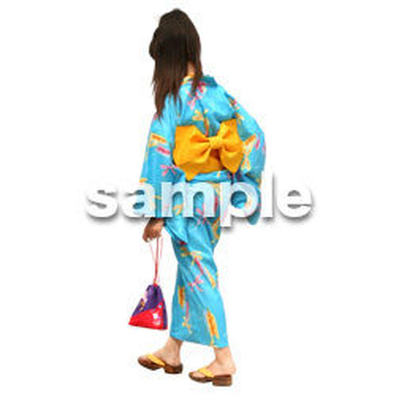 人物切抜き素材 夏服・フィットネス編 J_043