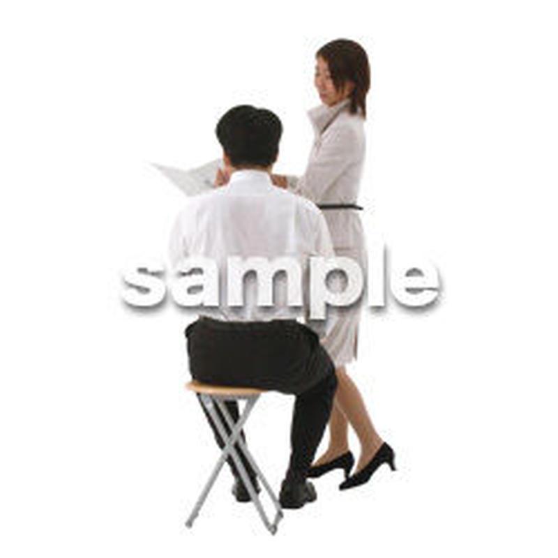 人物切抜き素材 オフィス・フォーマル編 G_059