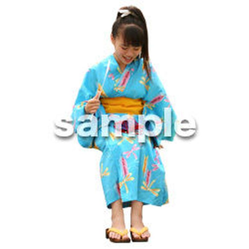 人物切抜き素材 夏服・フィットネス編 J_044