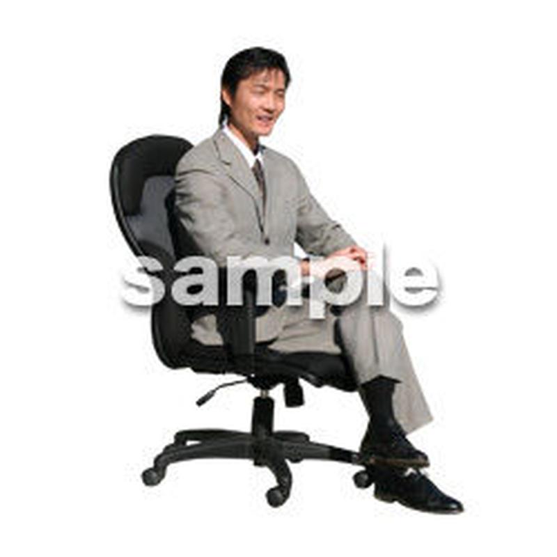 人物切抜き素材 オフィス・フォーマル編 G_175
