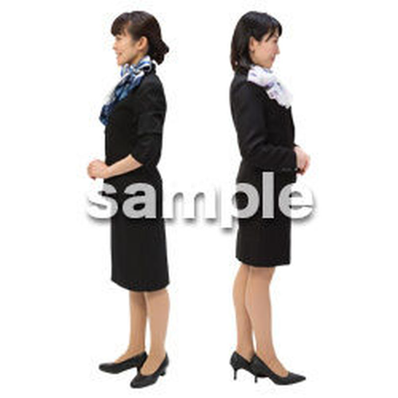 Cutout People ビジネス-日本人 EE_103