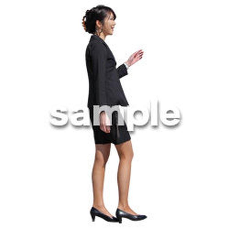 人物切抜き素材 ベーシックファッション編 P_278