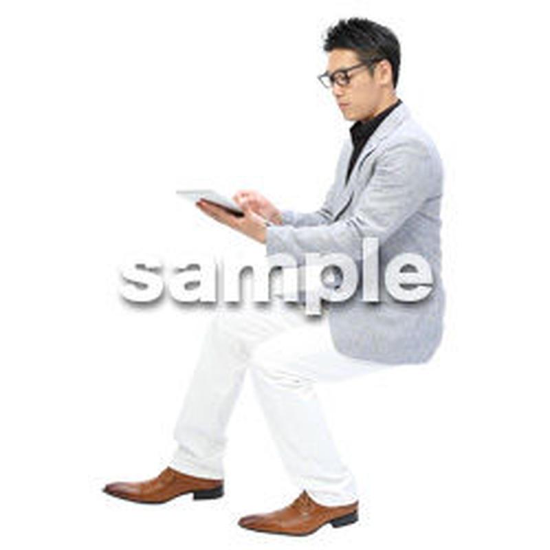 Cutout People ビジネス-日本人 EE_497