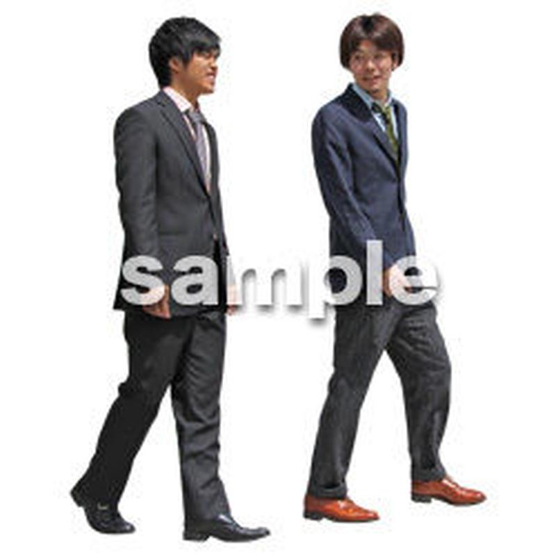 人物切抜き素材 ベーシックファッション編 P_073