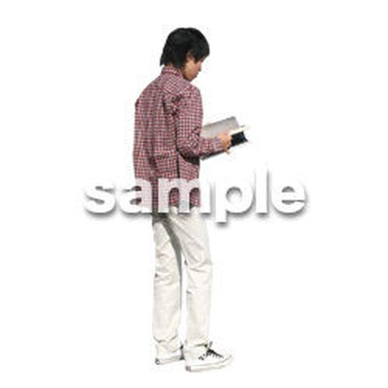 人物切抜き素材 カジュアル・ショッピング編 E_217