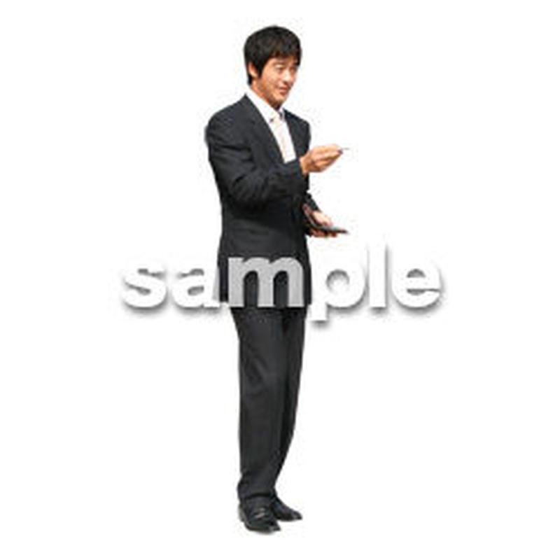 人物切抜き素材 オフィス・フォーマル編 G_097