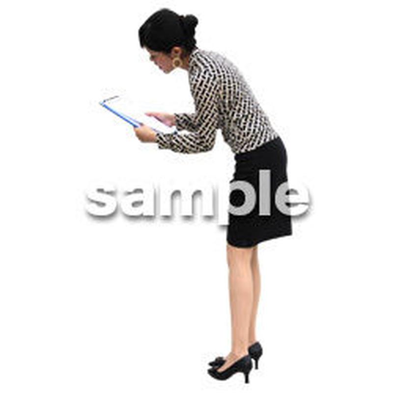 人物切抜き素材 アーバン・ショッピング編 M_209