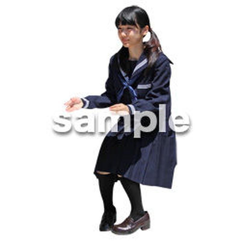 人物切抜き素材 キッズ・スクール編 O_406