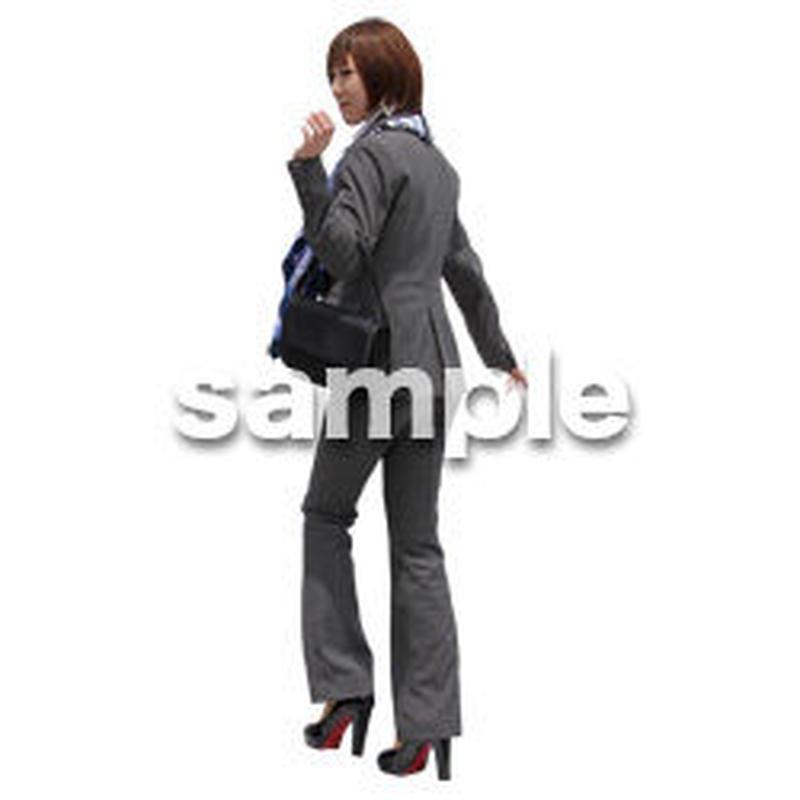 人物切抜き素材 ベーシックファッション編 P_259