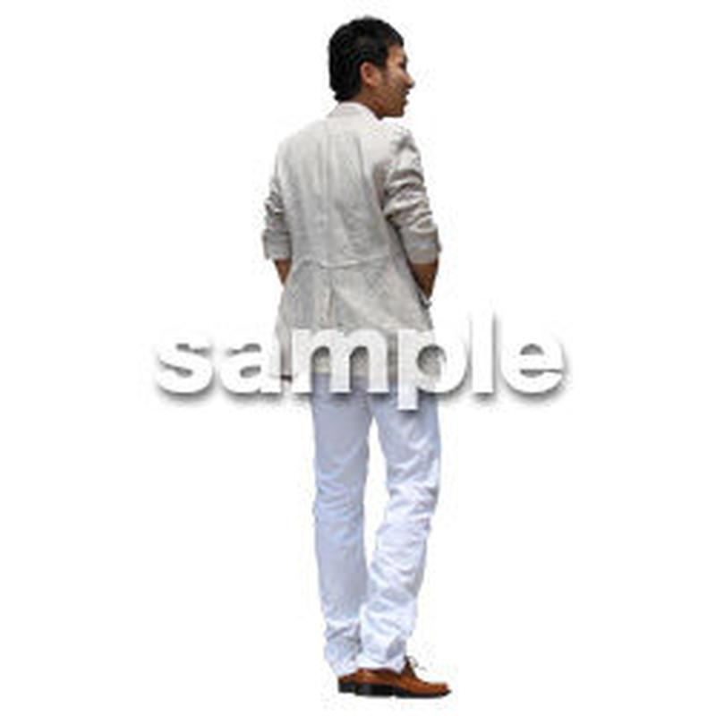人物切抜き素材 アーバン・ショッピング編 M_324