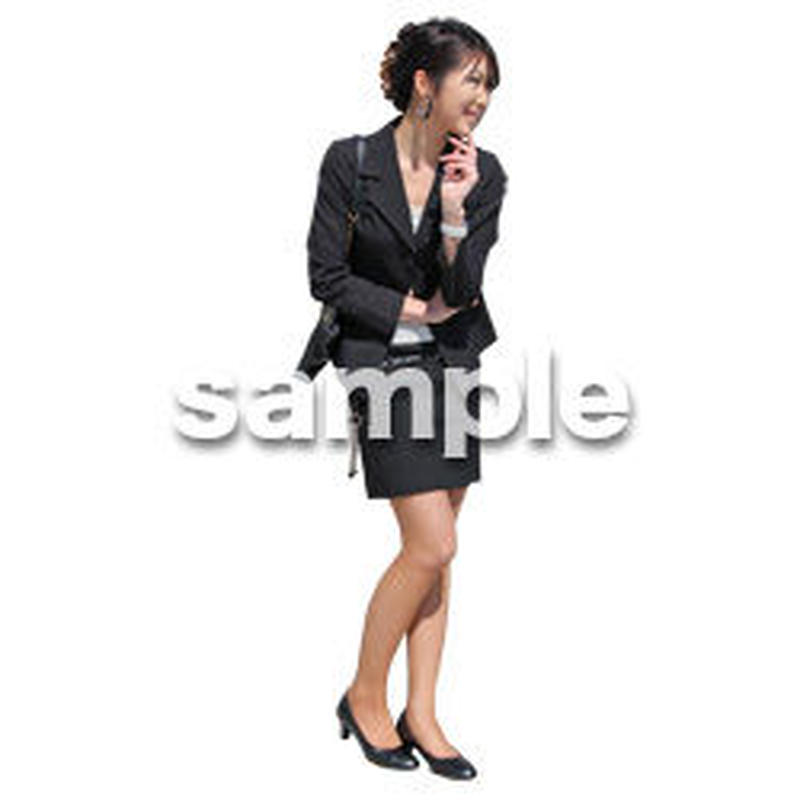 人物切抜き素材 ベーシックファッション編 P_281