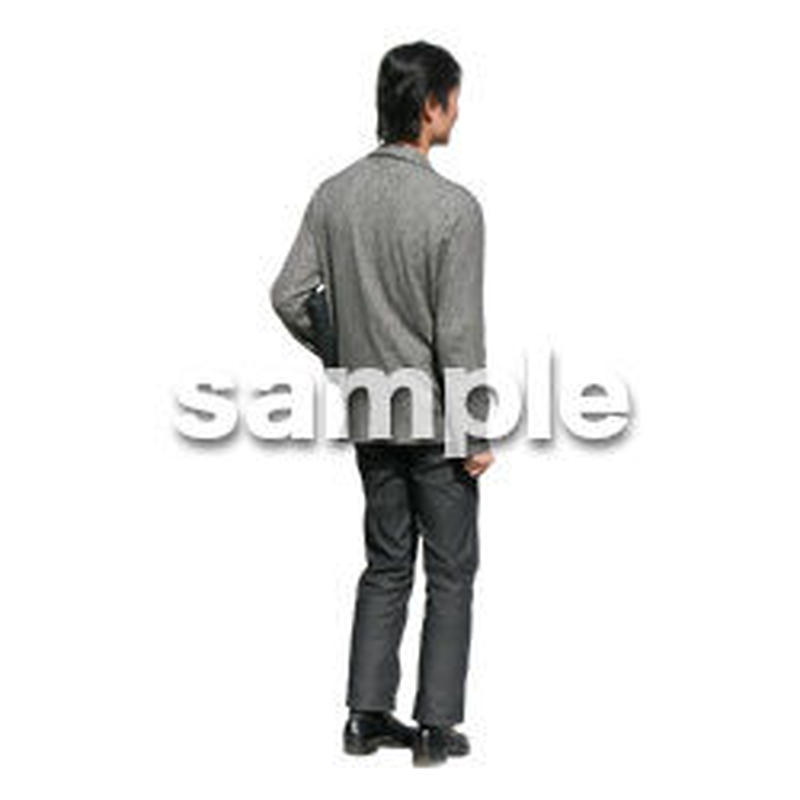 人物切抜き素材 カジュアル・ショッピング編 E_212