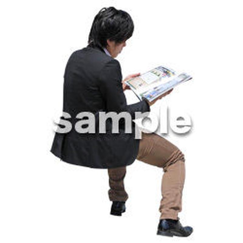 人物切抜き素材 アーバン・ショッピング編 M_499