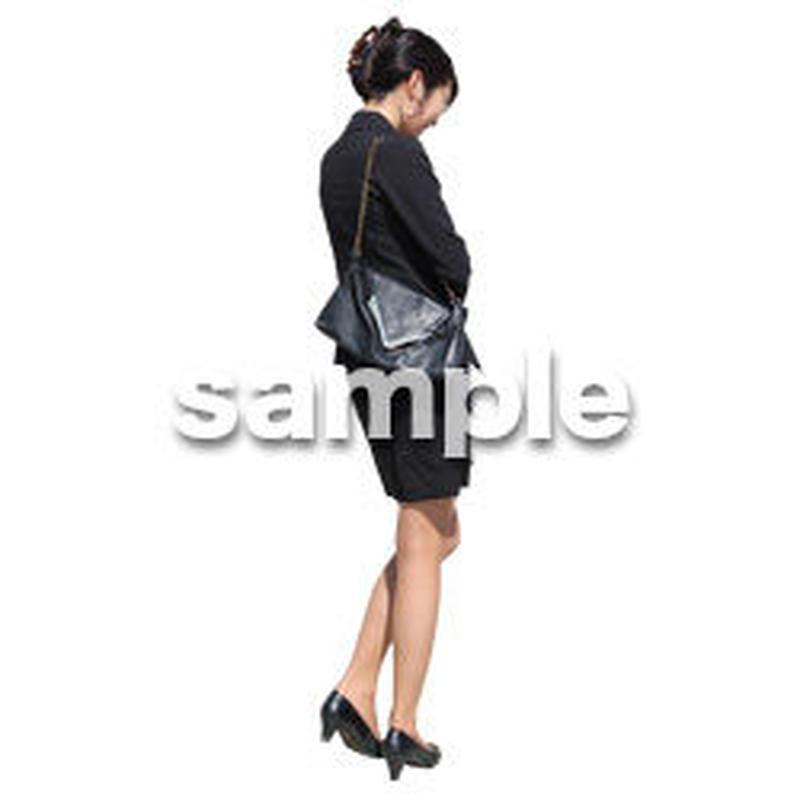 人物切抜き素材 ベーシックファッション編 P_284