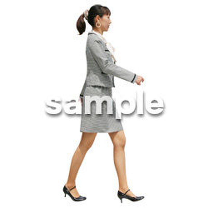 人物切抜き素材 ベーシックファッション編 P_168