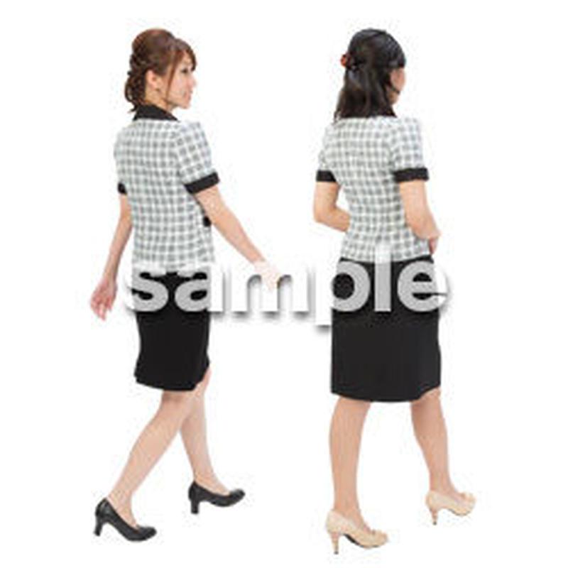 Cutout People ビジネス-日本人 EE_099