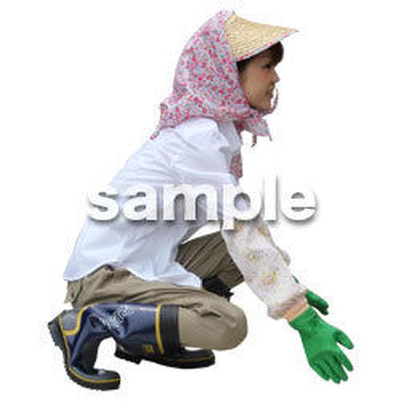 農作業 女性 NO_14