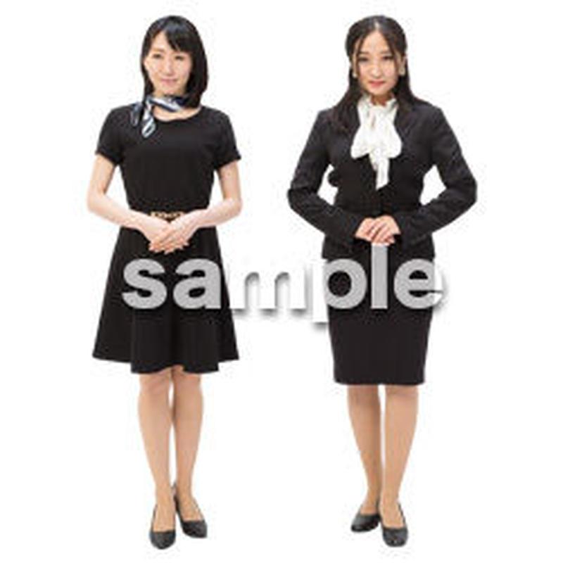 Cutout People ビジネス-日本人 EE_106