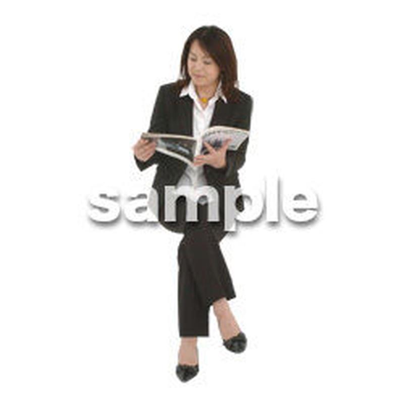 人物切抜き素材 オフィス・フォーマル編 G_183