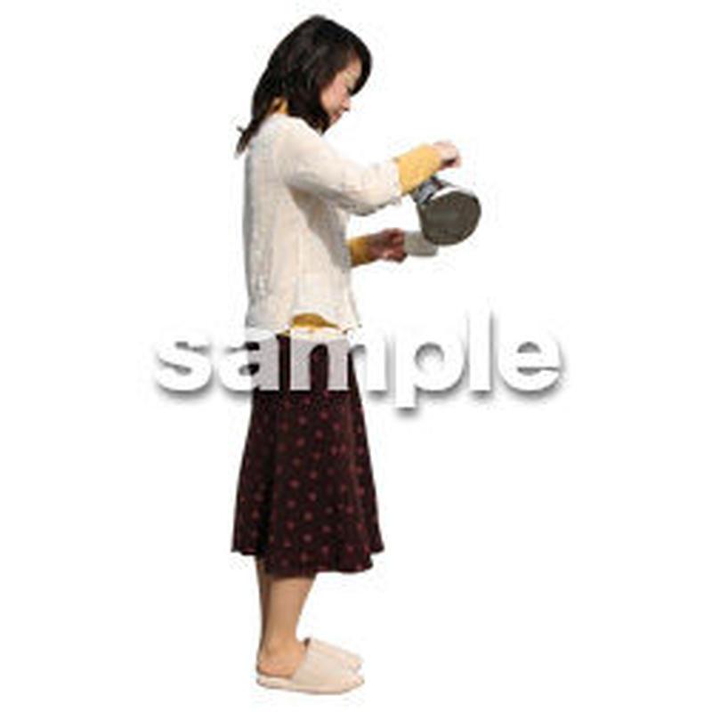 人物切抜き素材 リビング・散歩編 I_227