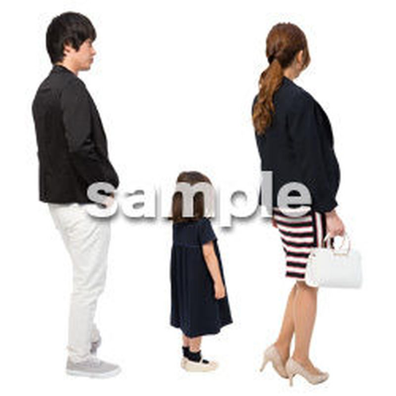 Cutout People ファミリー GG_034