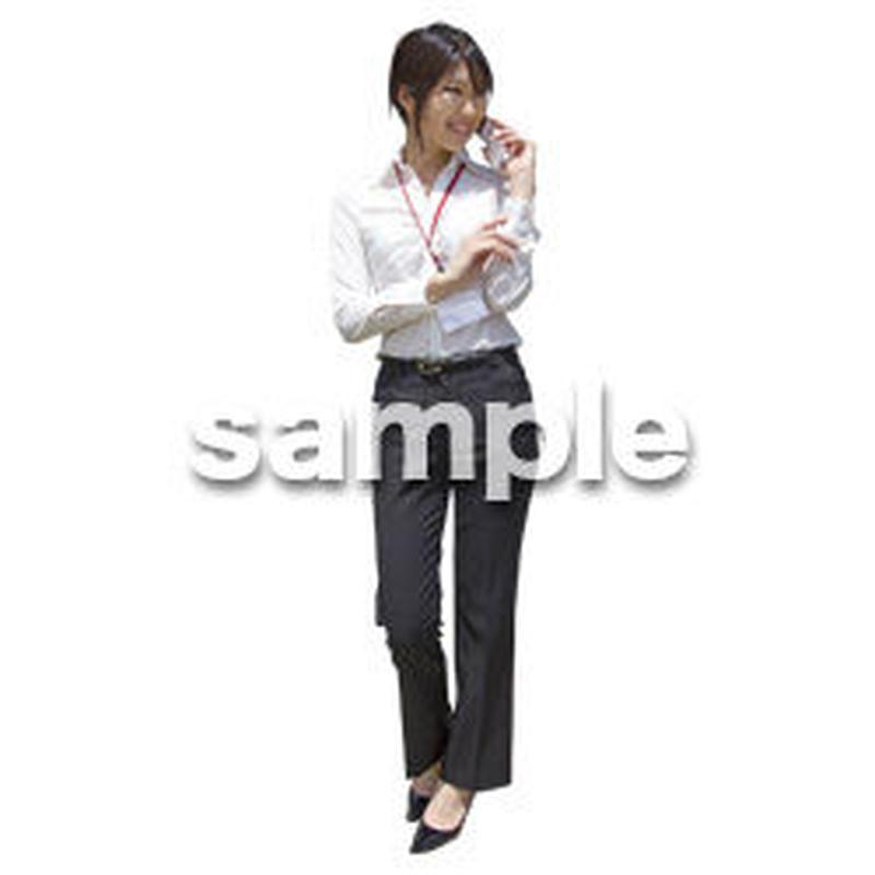 人物切抜き素材 ベーシックファッション編 P_147