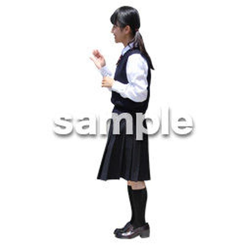 人物切抜き素材 キッズ・スクール編 O_392