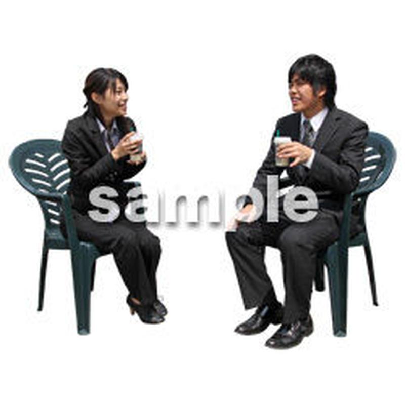 人物切抜き素材 アーバン・ショッピング編 M_346