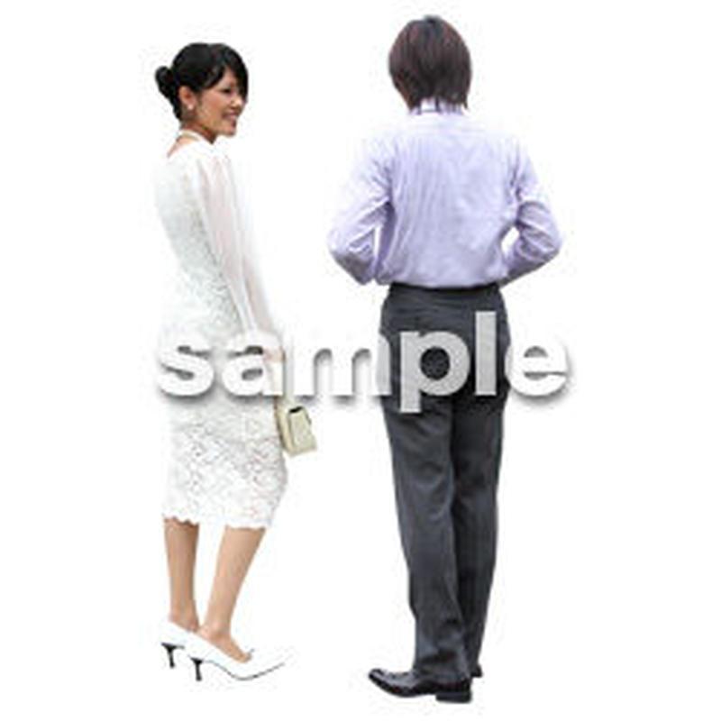 人物切抜き素材 アーバン・ショッピング編 M_046