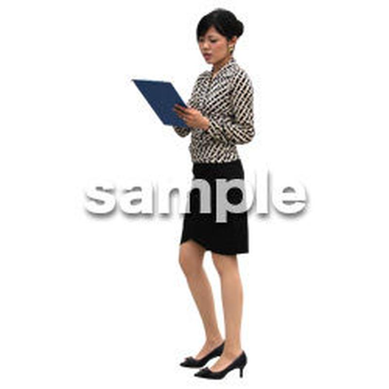 人物切抜き素材 アーバン・ショッピング編 M_204
