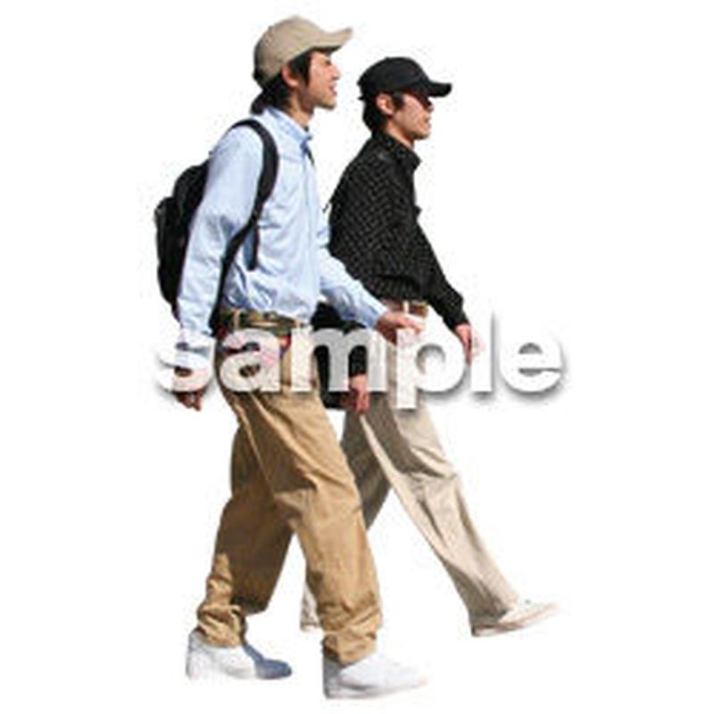 人物切抜き素材 リビング・散歩編 I_086