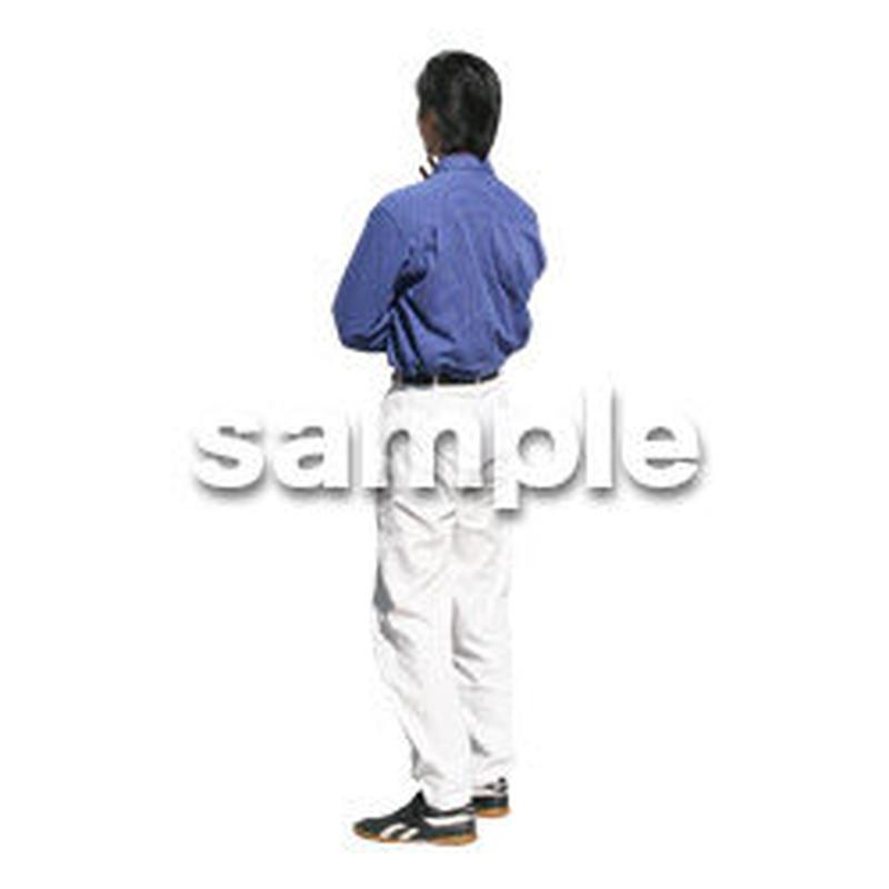 人物切抜き素材 カジュアル・ショッピング編 E_204