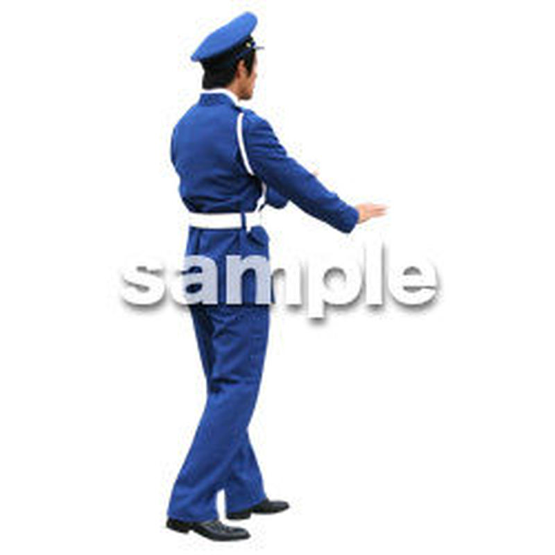 人物切抜き素材 ワーキング編 K_370