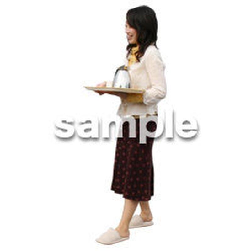 人物切抜き素材 リビング・散歩編 I_226