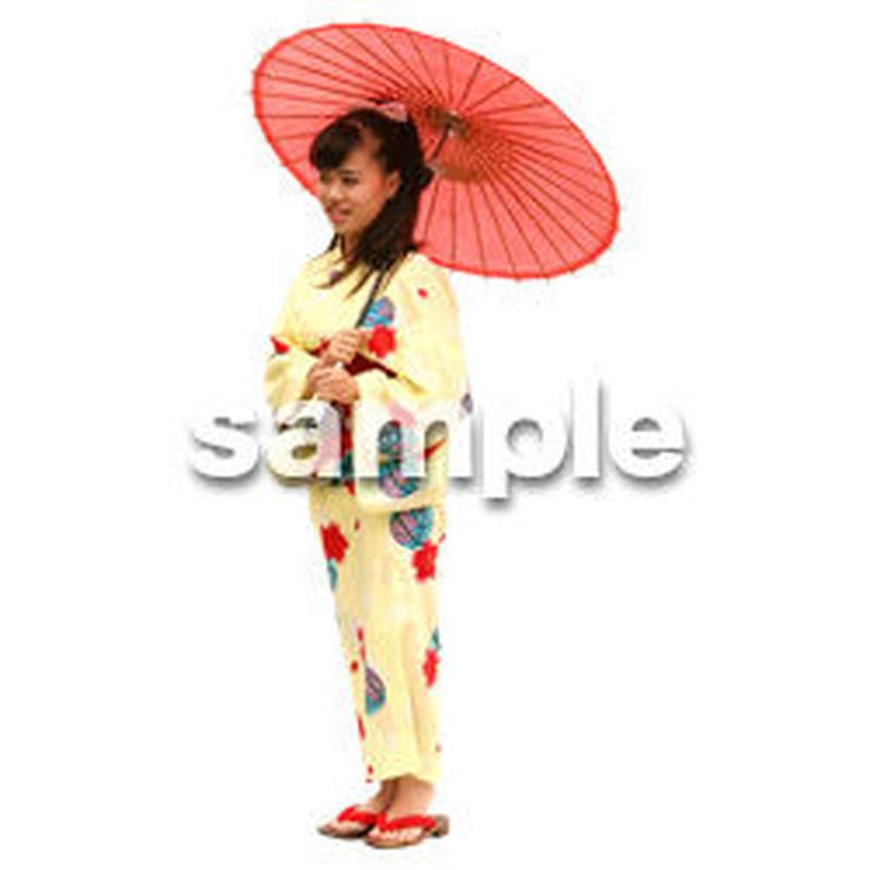人物切抜き素材 夏服・フィットネス編 J_047