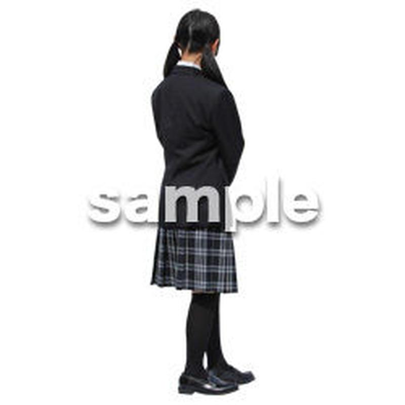 人物切抜き素材 キッズ・スクール編 O_398