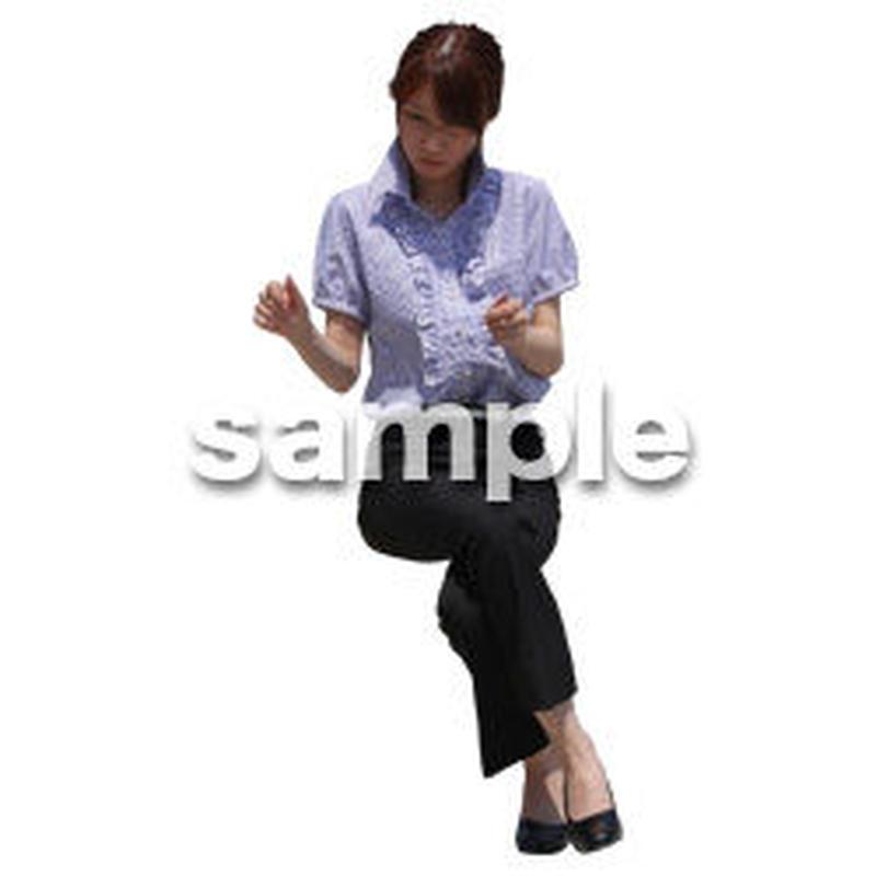 Cutout People ビジネス-日本人 EE_586