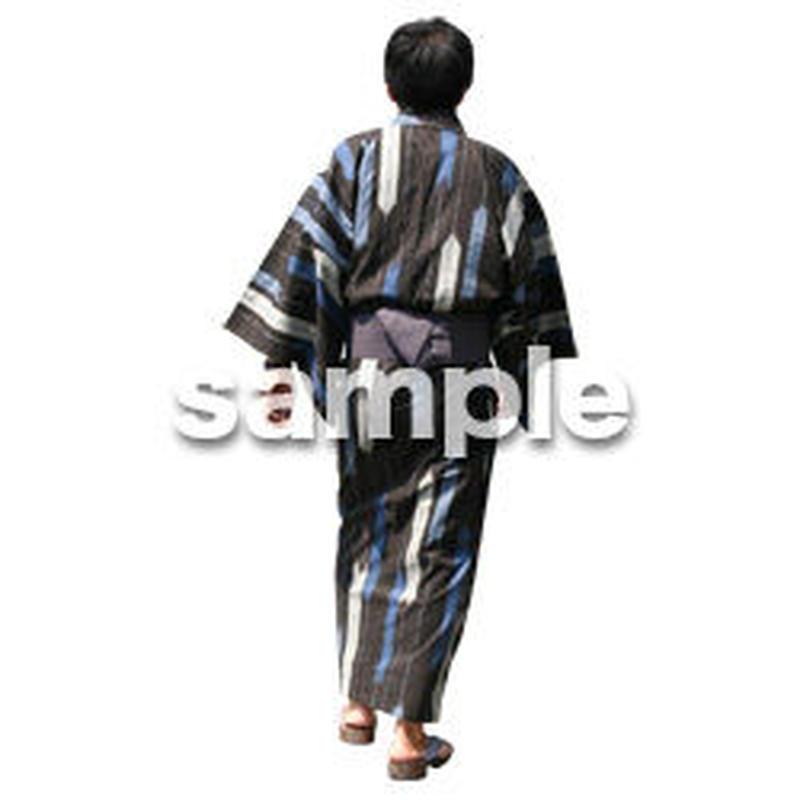 人物切抜き素材 夏服・フィットネス編 J_054