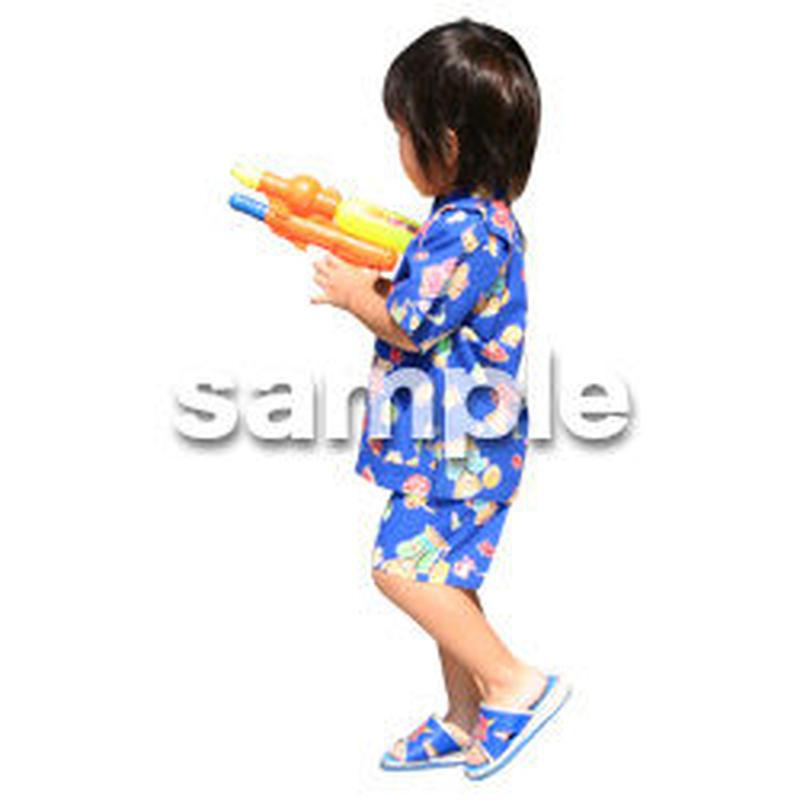人物切抜き素材 夏服・フィットネス編 J_060