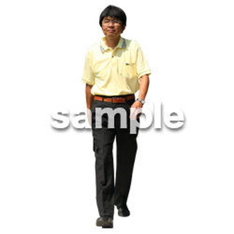 人物切抜き素材 夏服・フィットネス編 J_221