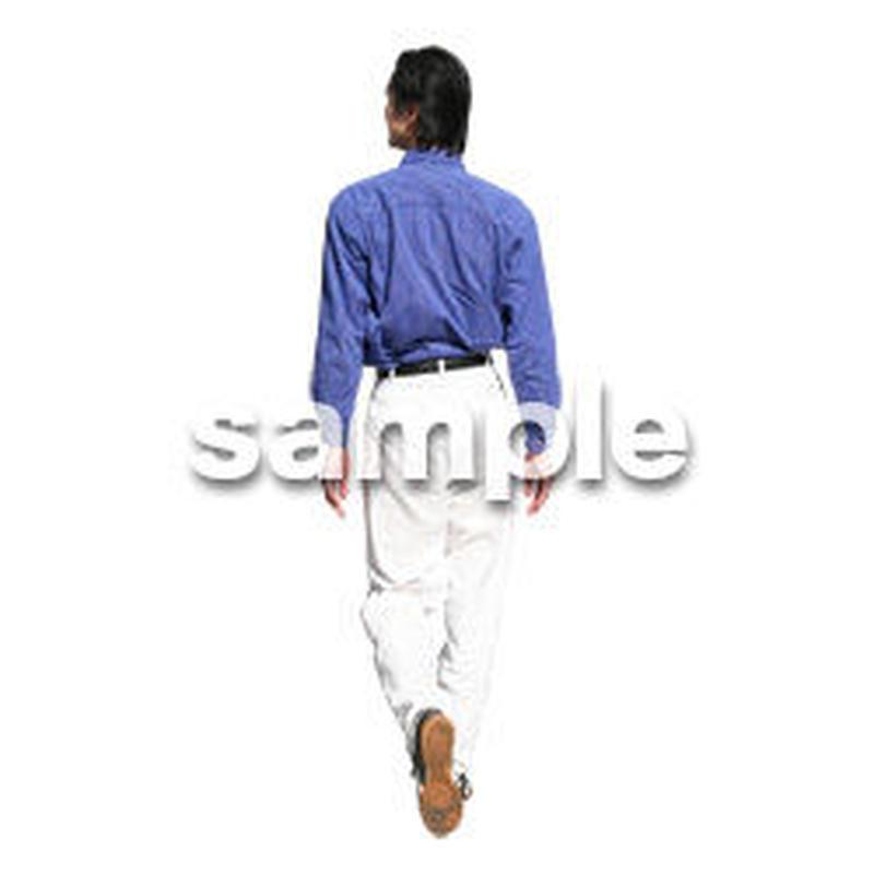 人物切抜き素材 カジュアル・ショッピング編 E_200