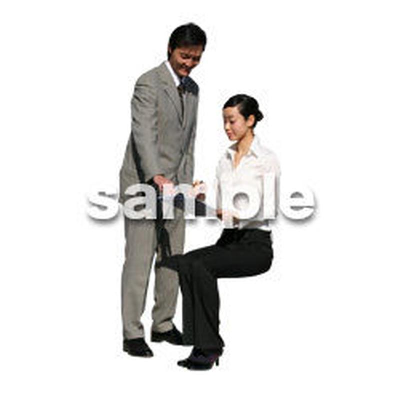 人物切抜き素材 オフィス・フォーマル編 G_049