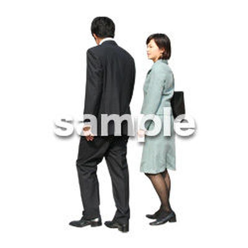 人物切抜き素材 オフィス・フォーマル編 G_028