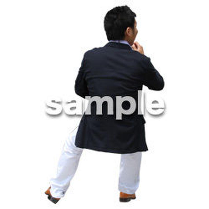 人物切抜き素材 アーバン・ショッピング編 M_478