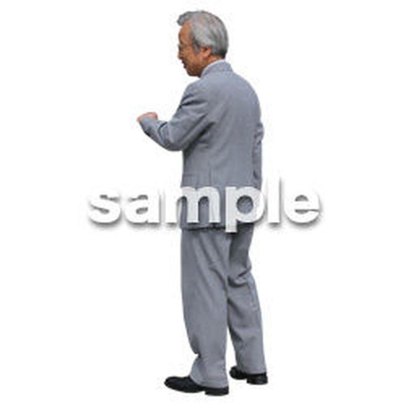 Cutout People ビジネス-日本人 EE_254