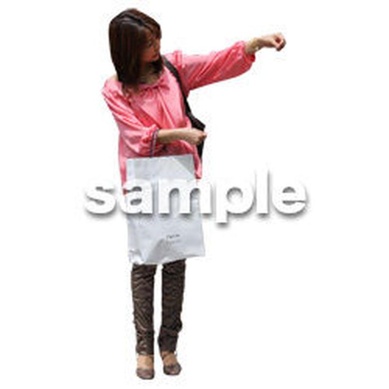 人物切抜き素材 レジャー・ショッピング編 L_220