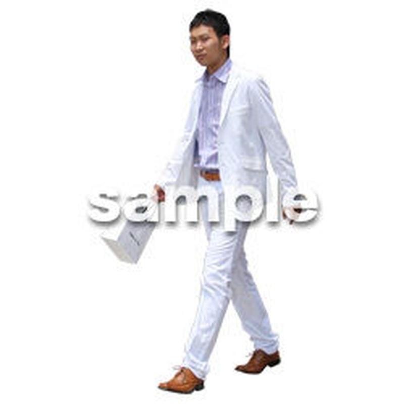 人物切抜き素材 アーバン・ショッピング編 M_329