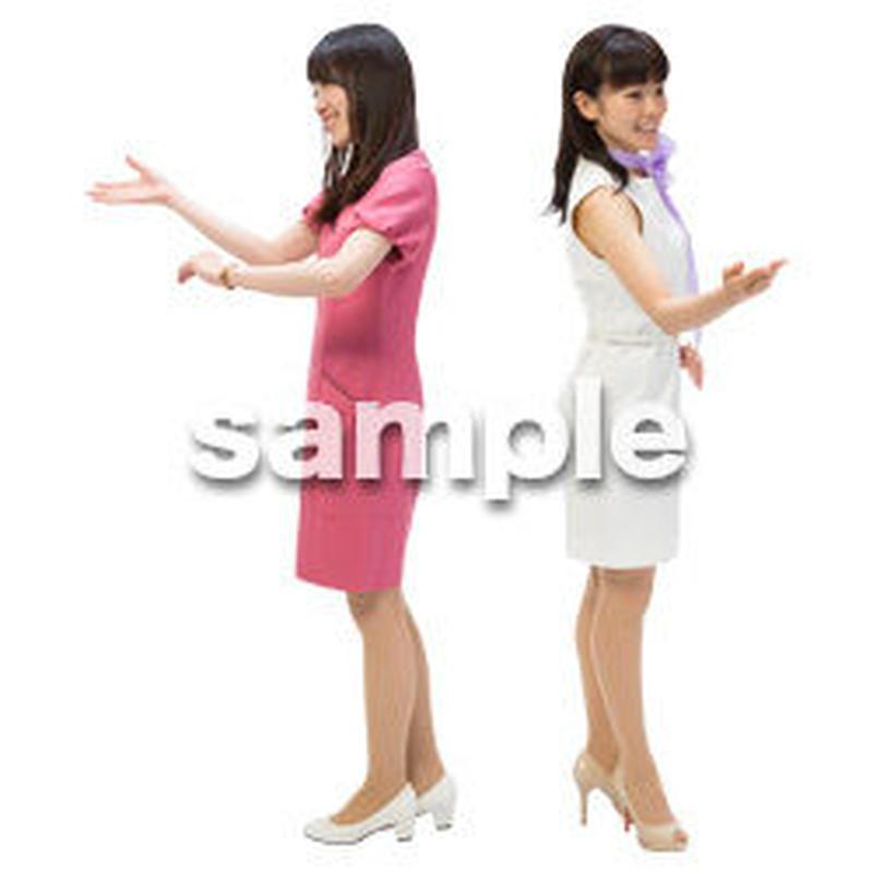 Cutout People ビジネス-日本人 EE_123