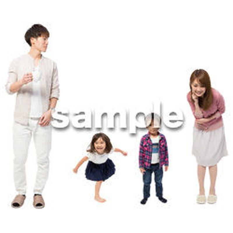 Cutout People 4人家族 II_331
