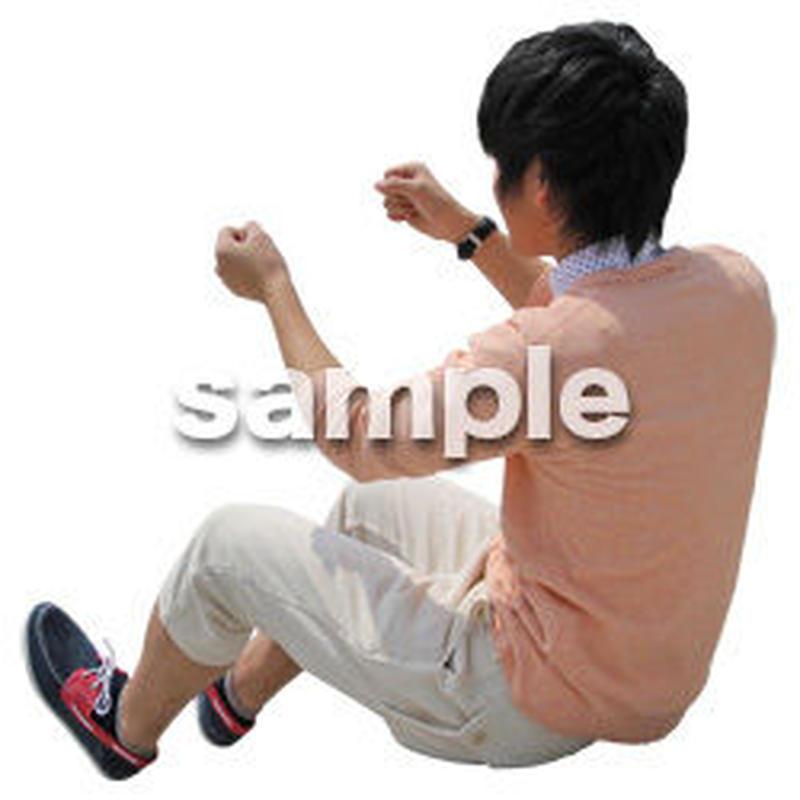 人物切抜き素材 レジャー・ショッピング編 L_500